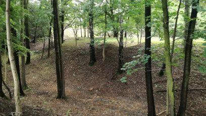 Widok wzgórza od strony zachodniej